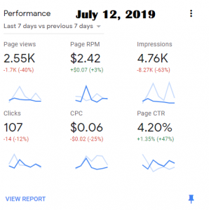 july 12 adsense
